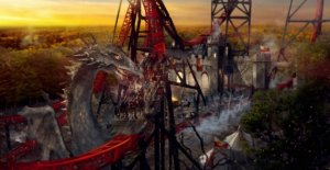 Rollercoasterfun at 43 metres height: Bobbejaanland has come up with the largest and most spectacular new attraction in years