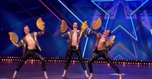 VIDEO. This Belgian men in high heels, go to the semi-finals of 'Holland's Got Talent'