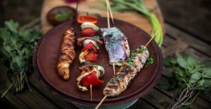 Life on a stick – so the food is tastier