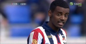 New success for stekhete Isaac – involved in both goals