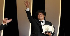 Cannes film festival: Golden palm for Parasite
