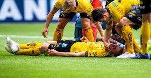 Elfsborgsspelare comes home with – fell head over heels in the ground