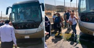 Explosion on tourist bus in Egypt – several injured
