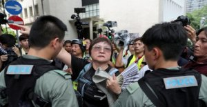 In spite of prohibition: New protests in Hong Kong