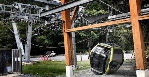 Kanada Gondel Treffer von vandal Verkleidung 'Millionen' zu einem Schaden, bis zu 20 Kabinen ersetzt werden müssen