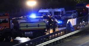 German police shoots and kills man on highway