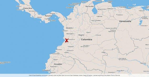 13 dead in busskrasch in Colombia