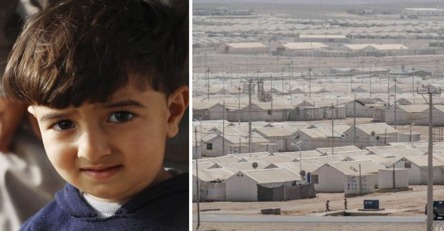 2-year-old Mohammad has never seen his own home