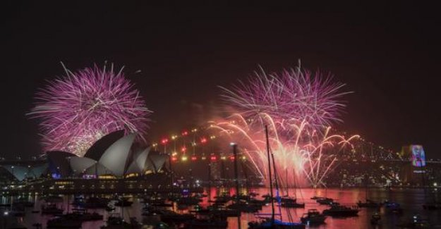 2019 has begun - new year's eve in the world