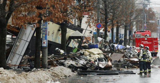 42 injured in the violent explosion in Japan