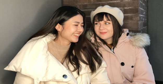 A Finnish Lotta, 24, and thai Kiki, 24, in love, all has been easy: We're not like straight couples