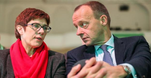 A failed candidate for the party leadership : broad support in the CDU leadership for the integration of Merz