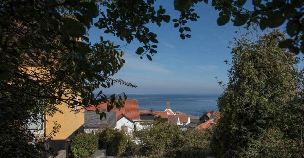 A family trip to the island of Bornholm: Pure happiness