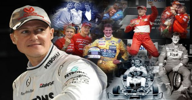 A ruthless will to win drove Michael Schumacher - remember the harsh collision with Damon Hill? You wanted the best stories