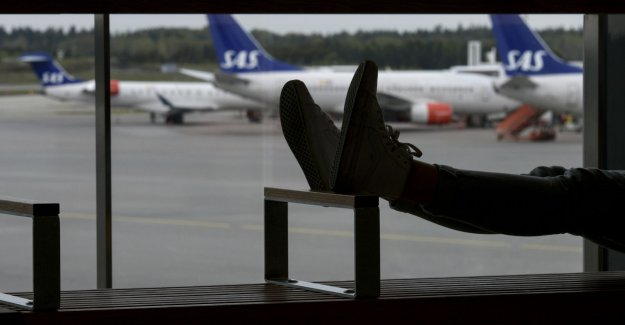 Abuse at Arlanda airport after the brawl on the luggage