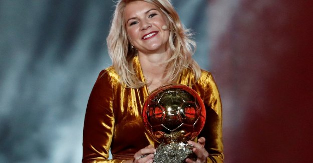 Ada Hegerberg could not believe it: - you Promise to keep a secret?