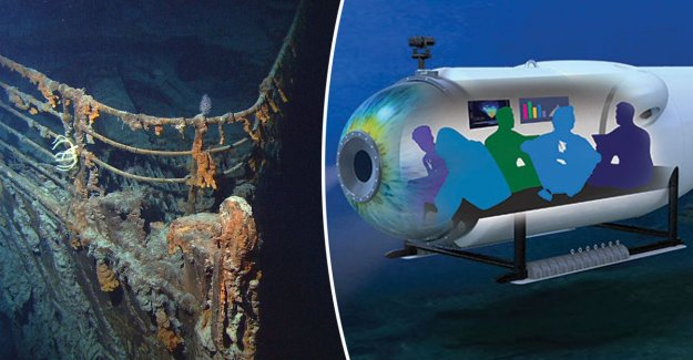 Adventurous? You may be a candidate for the expedition to the wreck of Titanic (but it's not cheap)