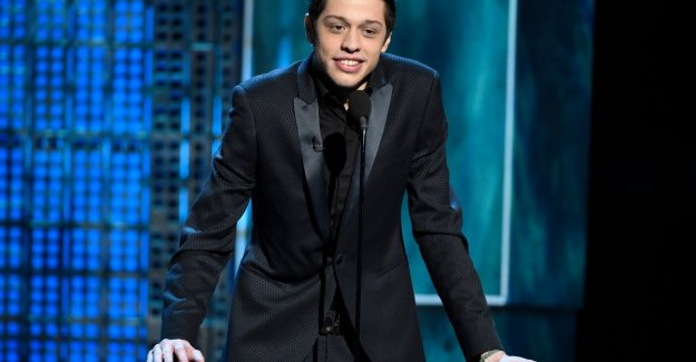 After disturbing reports about suicide: comedian Pete Davidson will be in good hands