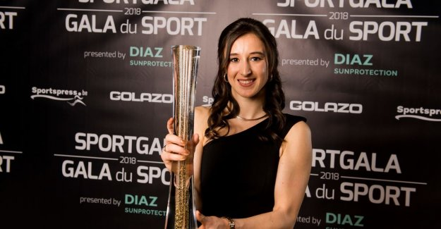 Again a price for Nina Derwael (18): the gymnast was elected Sportswoman of the Year 2018: No words for