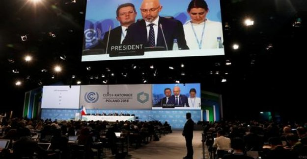 Agreement at the UN climate summit in Katowice
