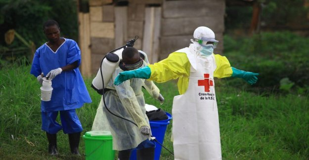 American aid workers may have been infected with ebola