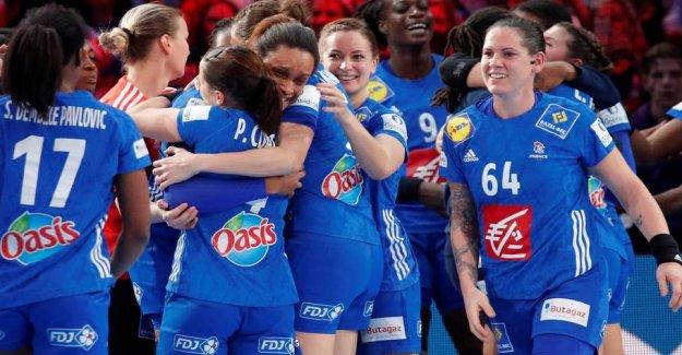 An almost error-free France has put itself on the verdenshåndbolden