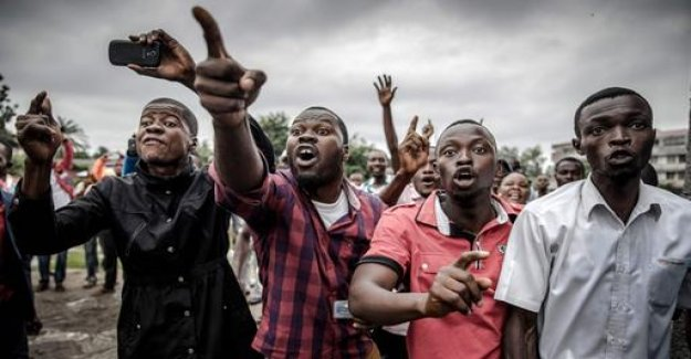 Apparently, irregularities in the election in the Congo