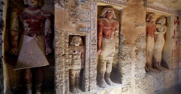Archaeology in Egypt : 4400-year-old priest's tomb in Cairo discovered