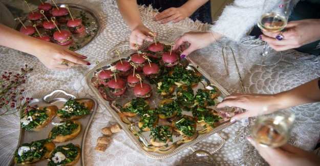 Are you wondering offered new year's party? These finger edible exported hands