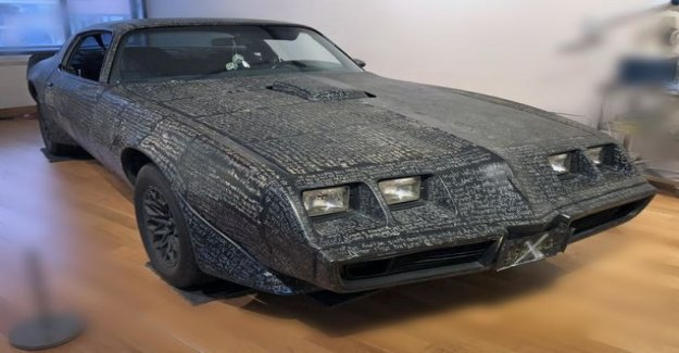 Artist scribble the whole book of revelation Pontiac dampers: This is the Apocalypse Trans Am