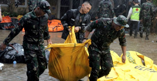 At least 222 dead after tsunami