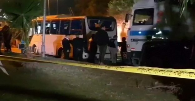 At least four killed when the tourist bus was blown up in Cairo