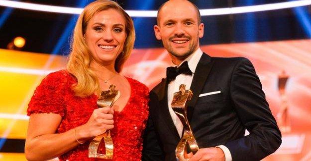 Award : Kerber, Long and DEB Team athlete of the year