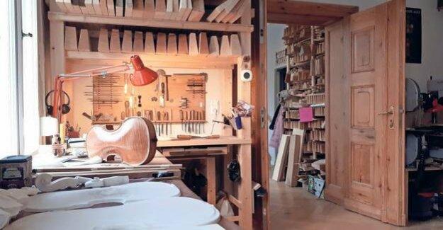 Award-winning violin maker : The wood makes the sound
