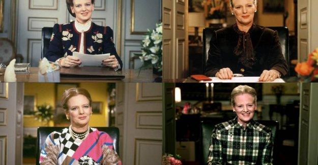 BIG gallery: Margrethe's best - and worst - nytårslook