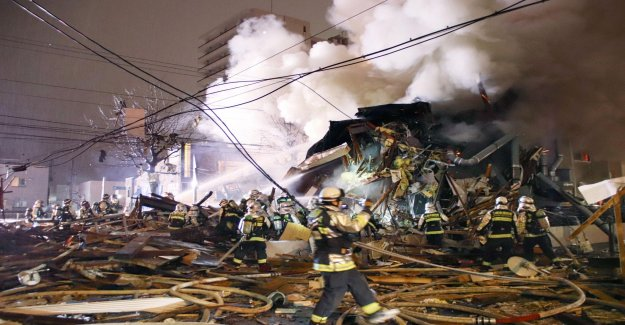 Bar in Japan, it exploded – over 40 injured
