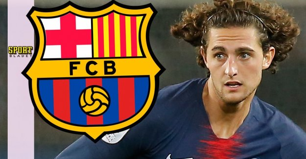 Barcelona on Rabiot: Not violated any rules