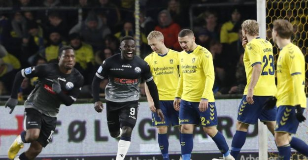 Big downturn in the Brøndby - cheated to the last