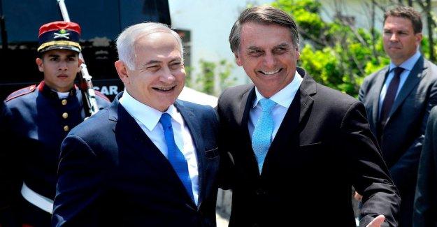 Bolsonaro promise to move Israelambassad to Jerusalem