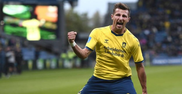 Brøndby-bombers agent: Therefore he was, despite the exotic offerings