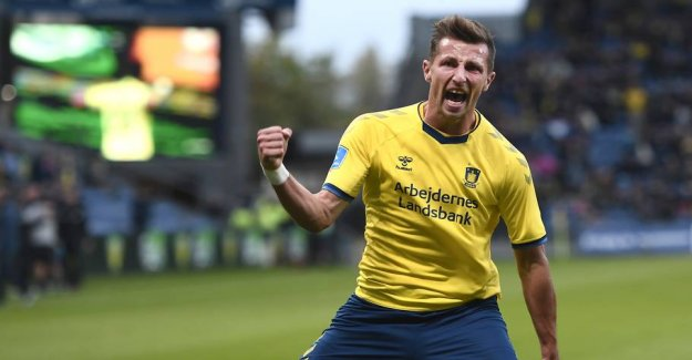 Brøndby forgylder the star - rejects exotic adventure
