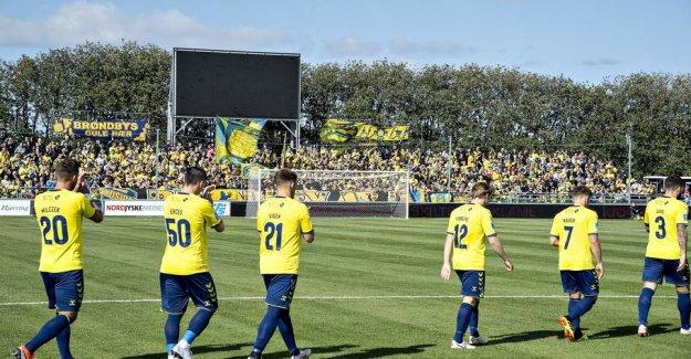 Brøndby retrieves reinforcement in Lyngby