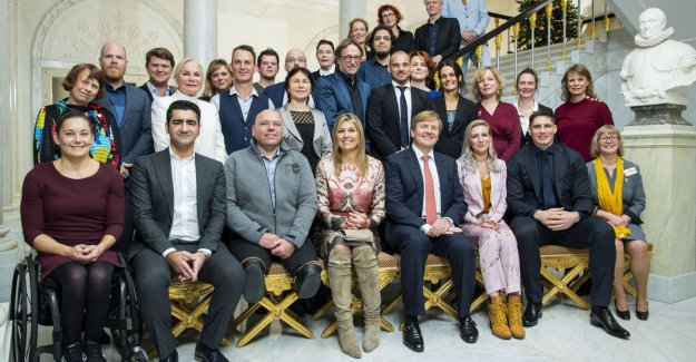 Bruno Vanden Broecke had lunch today with queen Maxima