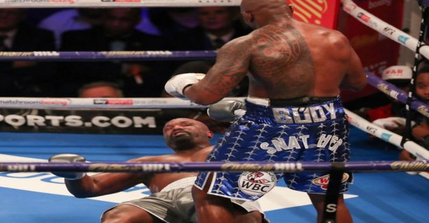 Brutal knockout: This heavyweight monsters match the progress - Whyte left hook to turn off all the lights Chisora away