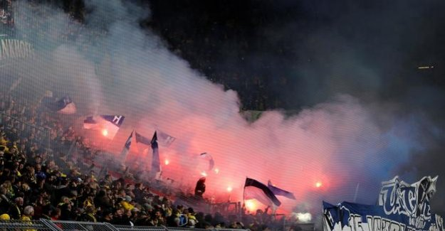 Bundesliga : After the riots in Dortmund: High money penalty for Hertha