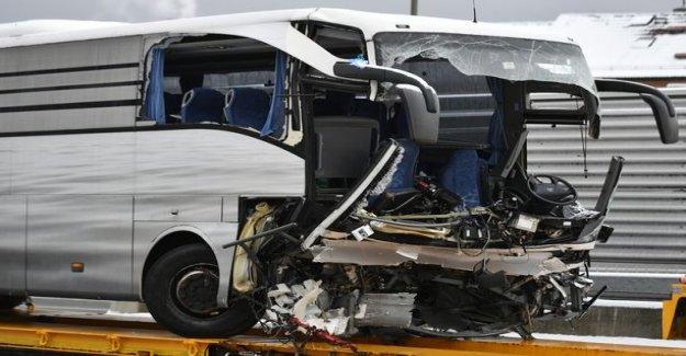 Bus accident in Switzerland - one dead, 44 injured