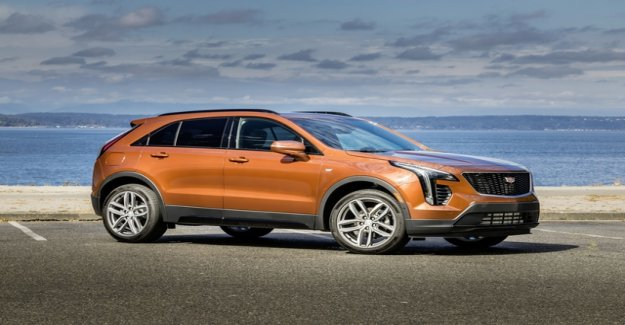 Cadillac launches SUV Aufholjagdmit the XT4