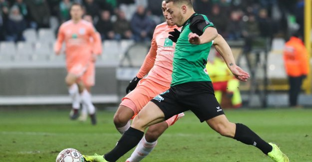 Cercle Brugge all the way saved, thanks to Kylian Hazard