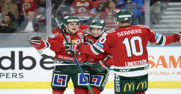 Cleared again but Frölunda punished the team of the tournament