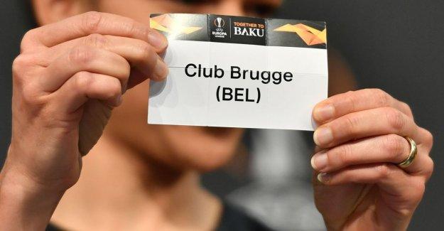 Club Brugge loot in 1/16th finals Europa League, Salzburg, Genk will meet Slavia Prague